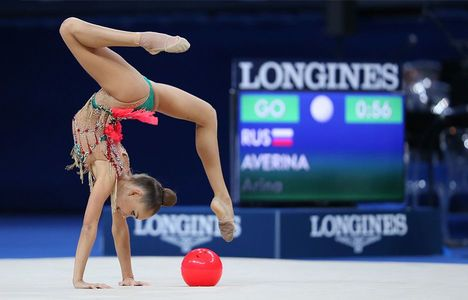 Arina and Dina Averina Longines Ambassador of Elegance
