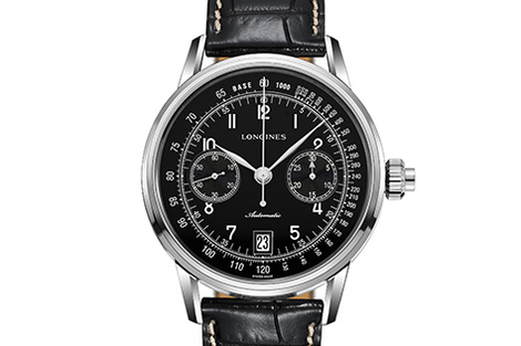 Longines The Longines Column-Wheel Single Push-Piece Chronograph  Watch