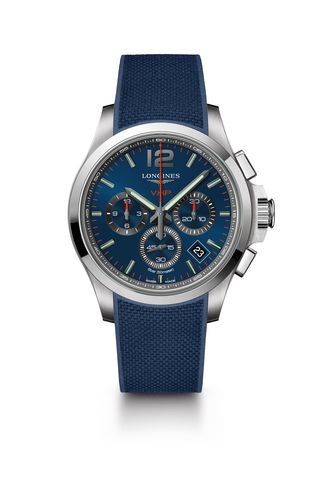 Longines Conquest V.H.P. Chronograph Watch