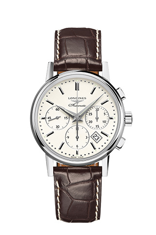 Longines The Longines Column-Wheel Chronograph Watch