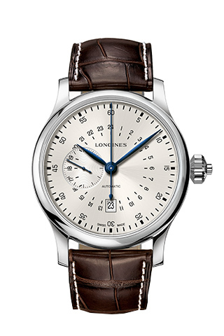 Longines The Longines Twenty-Four Hours Single Push-Piece Chronograph Watch
