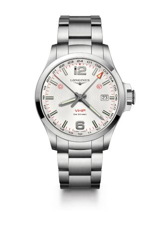 Longines Conquest V.H.P. GMT Flash Setting Watch