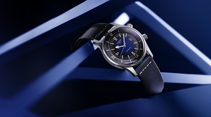 Longines Collection:  The Longines Legend Diver Watch