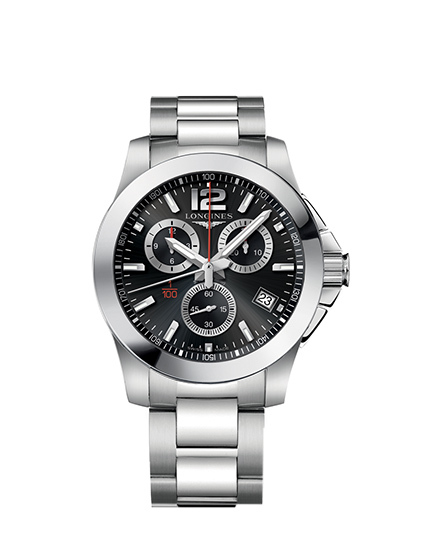 Longines Conquest 1/100th Alpine Skiing Watch