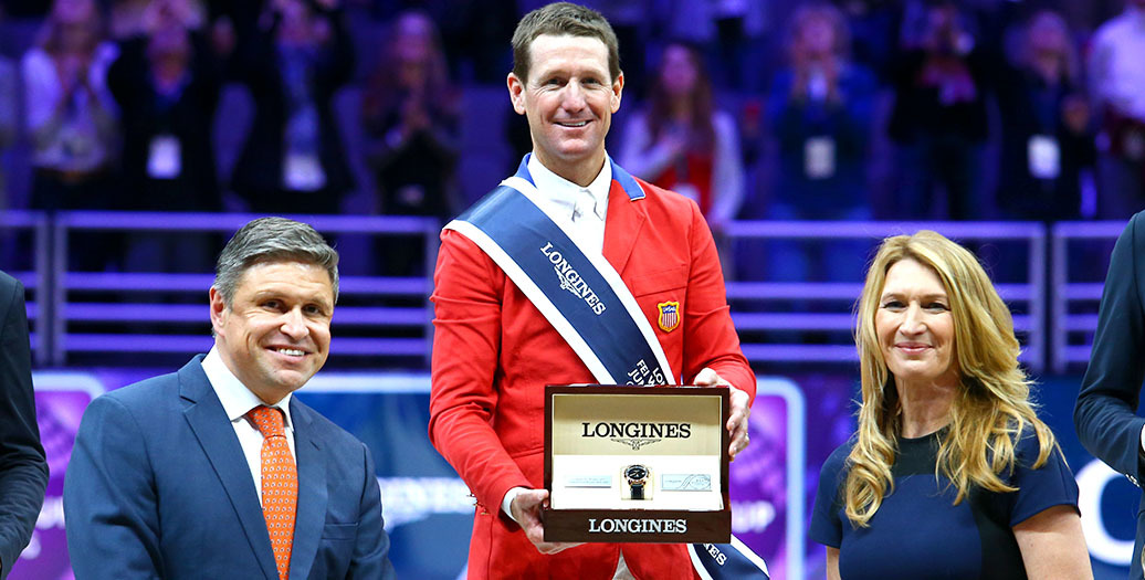 Longines Show Jumping Event: McLain Ward and HH Azur are the indisputable Champions of the Longines FEI World Cup™ Jumping 2017