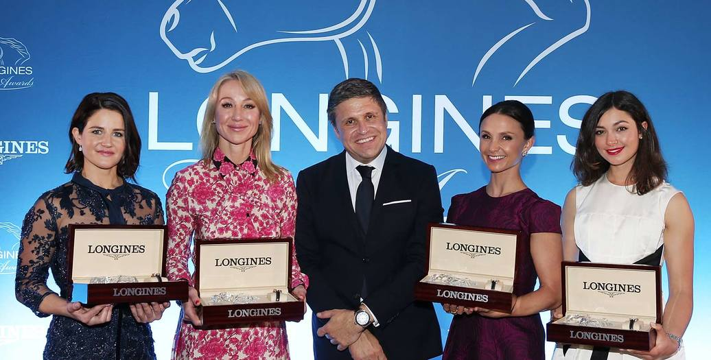 Longines Corporate Event: The Longines Ladies Awards Presented to Four Leading Women in the Equestrian World