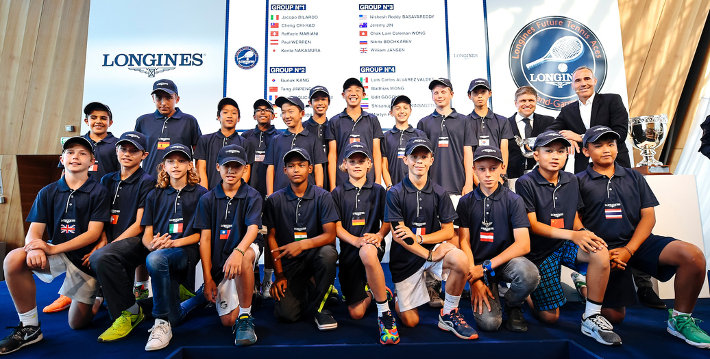 Longines Tennis Event: The 2017 Longines Future Tennis Aces tournament now welcomes  20 international players