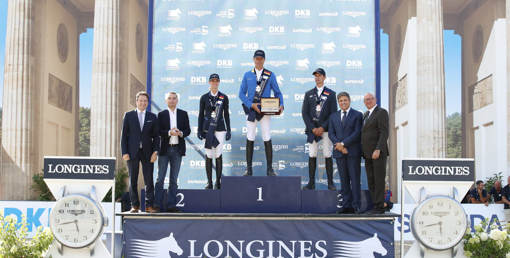Longines Flat Racing Event: Berlin joined the Longines Global Champions Tour