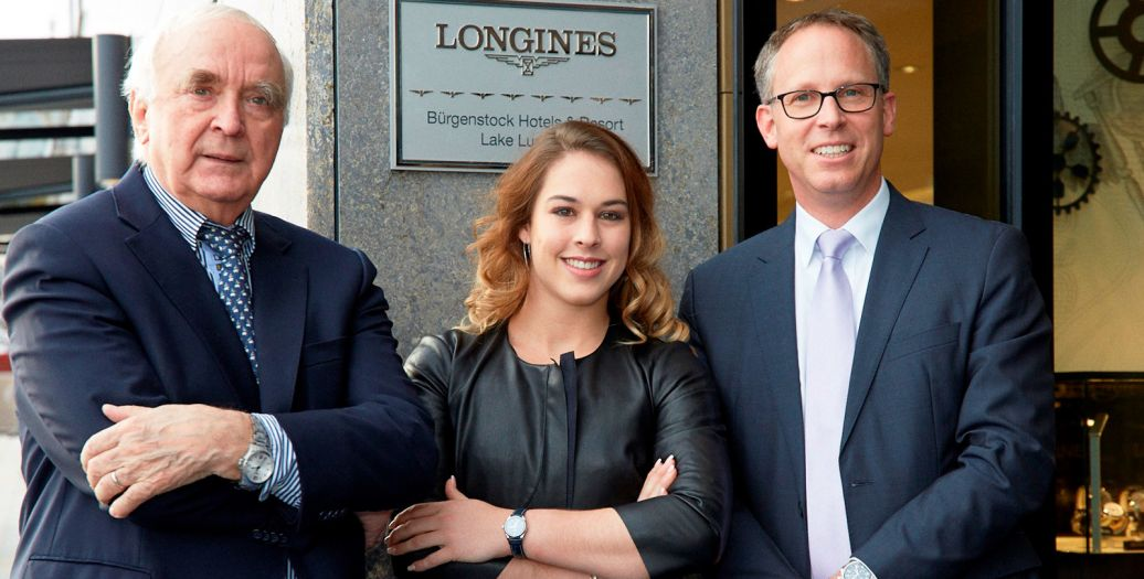 Longines Corporate Event: Longines officially inaugurates its first Corporate Boutique in Switzerland in presence of Giulia Steingruber, Ambassador of Elegance