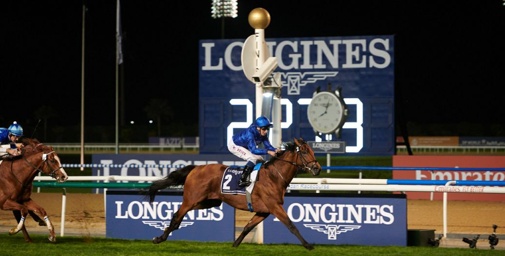Longines Flat Racing Event: Swiss watch brand Longines honours the winners of  the Longines Dubai Sheema Classic