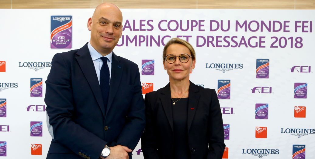 Longines Show Jumping Event: Culmination of an exciting 2017-2018 Longines FEI World CupTM Jumping season in Paris