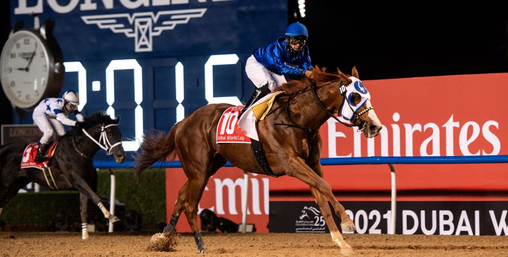 Longines Flat Racing Event: Longines times the victory of Mystic Guide in the 25th Dubai World Cup