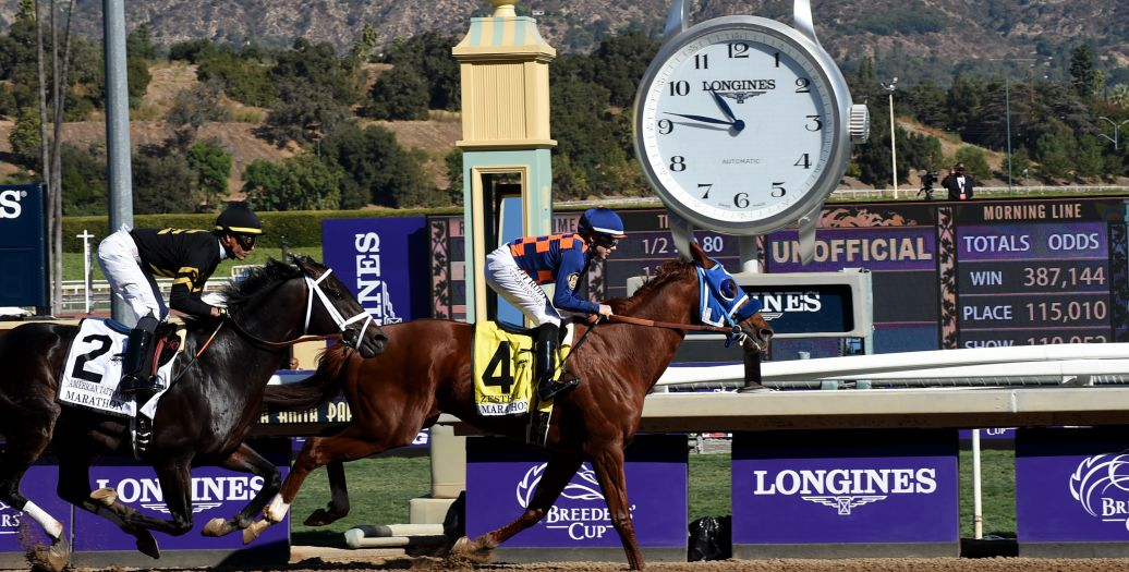 Longines Flat Racing Event: Longines timed the 36th Breeders' Cup World Championships