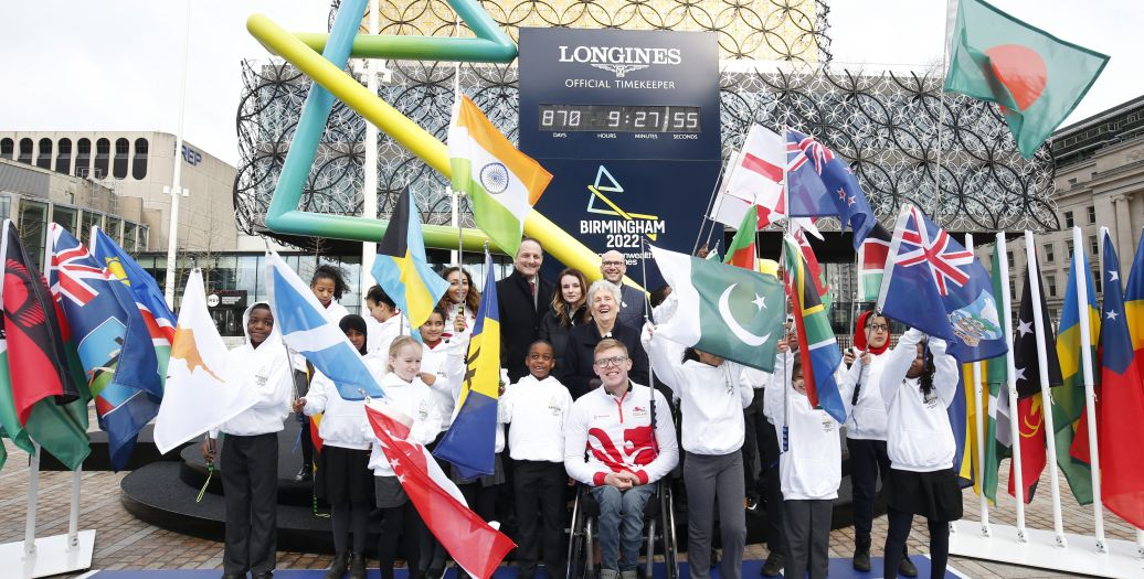 Longines Commonwealth Games Event: Longines and CGF agree historic multi-Commonwealth Games partnership, as Birmingham 2022 Countdown Clock is revealed