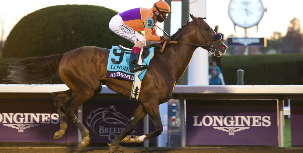 Longines Flat Racing Event: Authentic raced into victory at the 2020 Longines Breeders Cup Classic