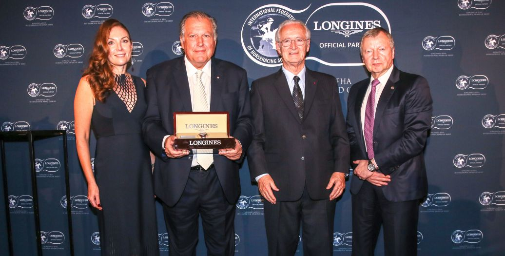 Longines Flat Racing Event: John Messara Receives the 2019 Longines and IFHA International Award of Merit