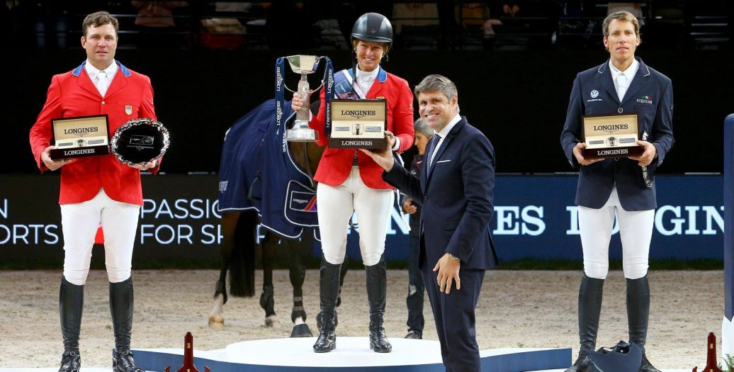 Longines Show Jumping Event: Triumph for Elizabeth Madden and Breitling LS at the 2018 Longines FEI World CupTM Jumping Final