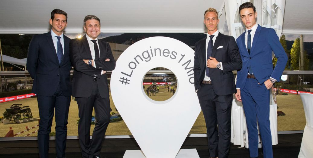 Longines Show Jumping Event: Longines is delighted to have celebrated its 1'000'000 Instagram followers at the Longines FEI Jumping Nations Cup™ Final