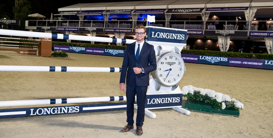 Longines Equestrian Event: Thrilling sports performances and emotional moments at the Longines FEI Jumping Nations CupTM Final with Longines Ambassador of Elegance Simon Baker