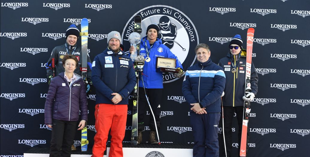 Longines Alpine Skiing Event: Longines Future Ski Champions : The best international young skiers faced off during the FIS Alpine World Cup Finals