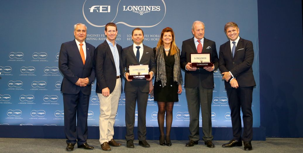 Longines Show Jumping Event: Kent Farrington and HH Azur honored as the 2017 Longines FEI World's Best Jumping Rider & Horse