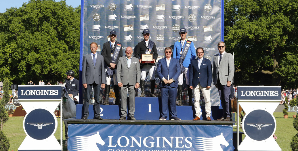Longines Show Jumping Event: Great victory of Rolf-Göran Bengtsson at the Longines Global Champions Tour of Hamburg