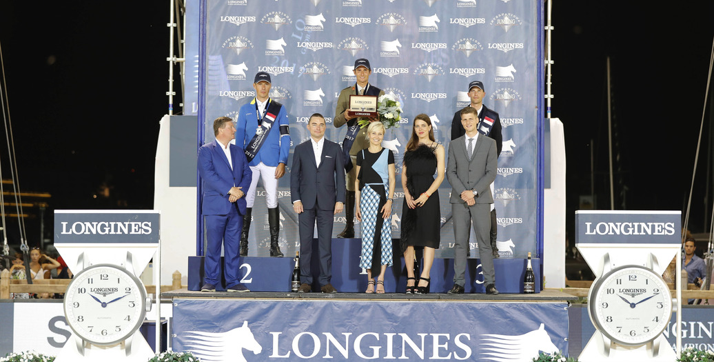 Longines Show Jumping Event: The riders of the Longines Global Champions Tour competed in the magnificent Monaco harbour