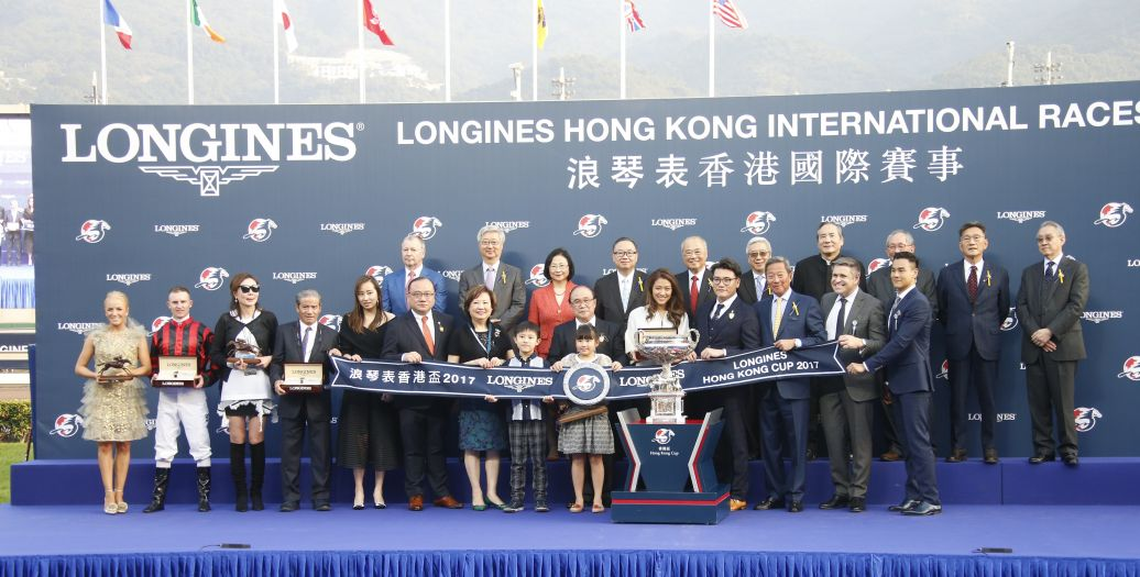 Longines Flat Racing Event: Longines welcomes its Ambassador of Elegance Eddie Peng at the 2017 Longines Hong Kong International Races