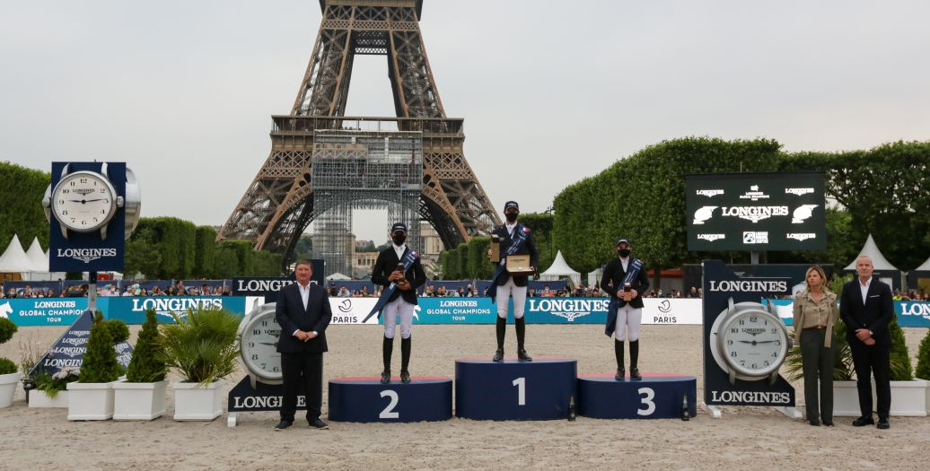 Longines Show Jumping Event: Longines Paris Eiffel Jumping:  Back at the foot of the Iron Lady