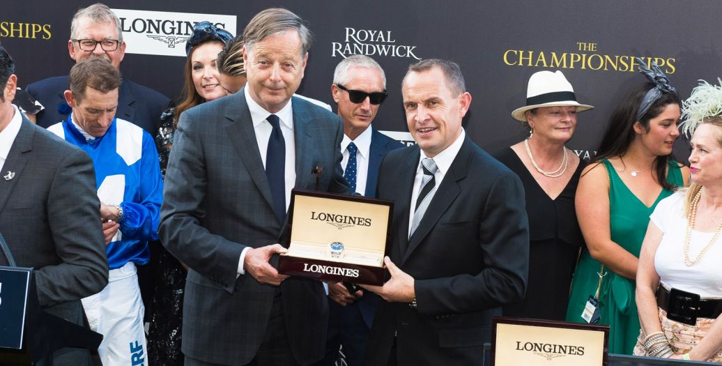 Longines Flat Racing Event: Winx claimed victory at the Longines Queen Elizabeth Stakes