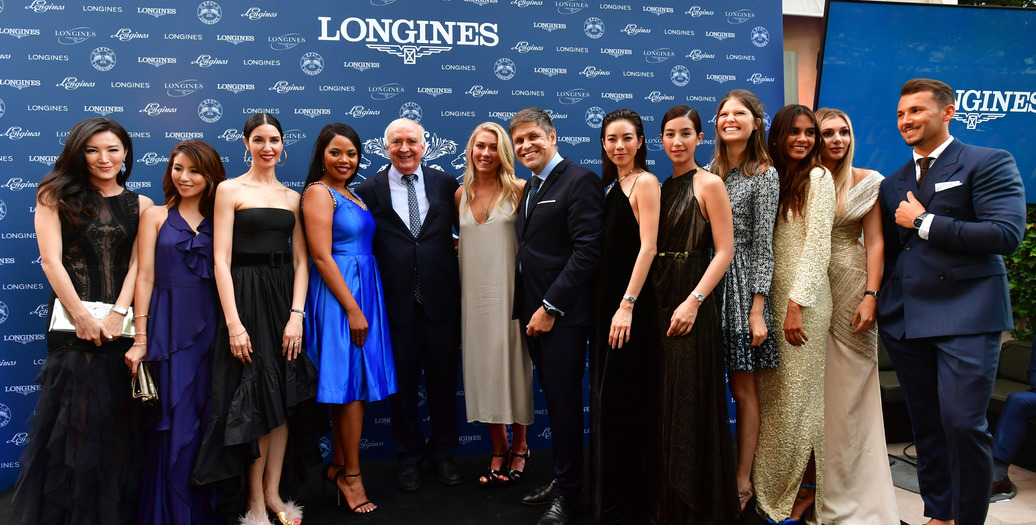 Longines Corporate Event: Longines officially launched the blue model of The Longines Master Collection on the eve of Prix de Diane Longines culminating day