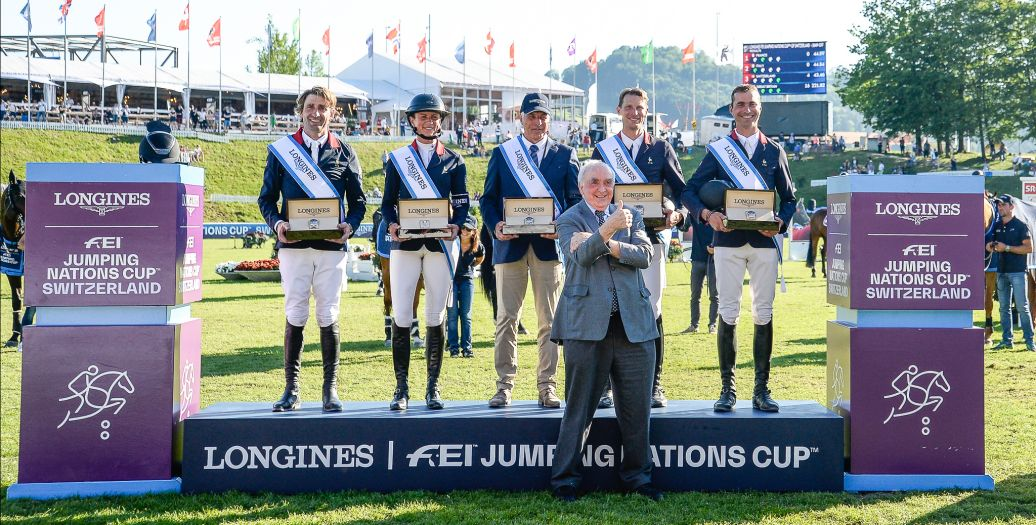 Longines Show Jumping Event: Four days of captivating competitions and exceptional performances for the Longines CSIO St.Gallen