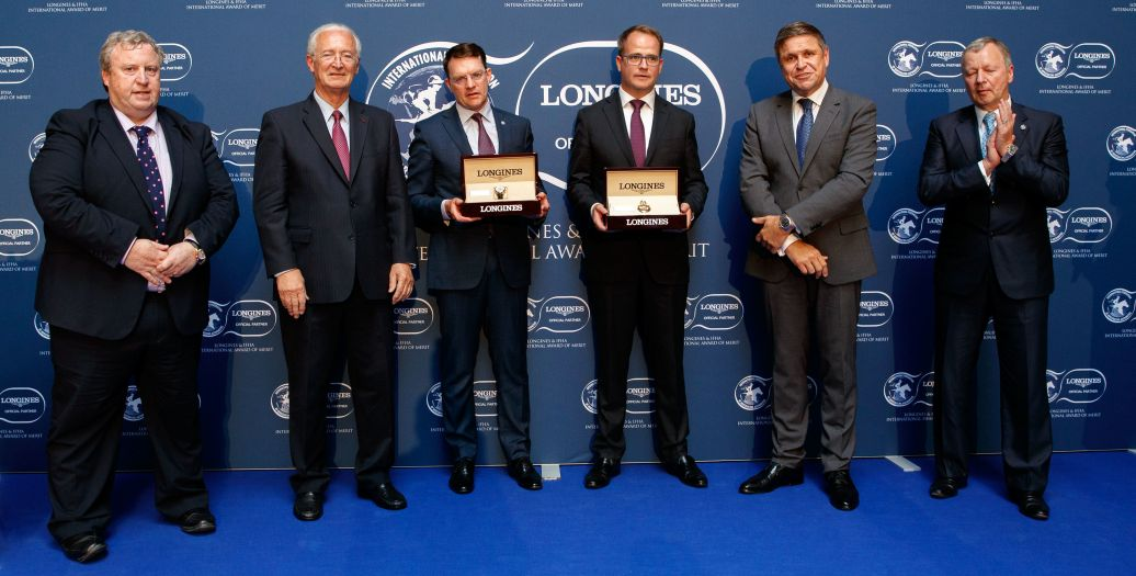Longines Flat Racing Event: Magnier Family, O'Brien Receive  2018 Longines and IFHA International Award of Merit
