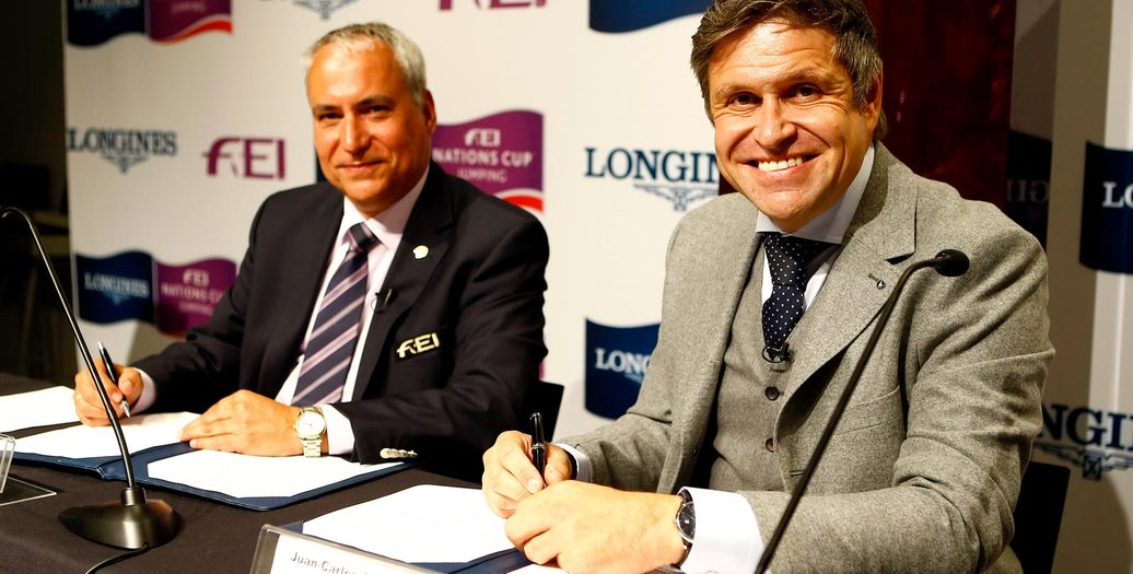 Longines Show Jumping Event: Longines signs long-term title partnership of FEI Nations Cup™ Jumping and extends global agreement as FEI Top Partner