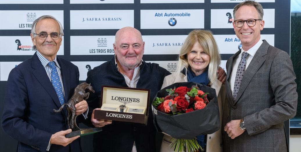 Longines Show Jumping Event: Luigi Baleri is the 2019 Longines Owner of the Year