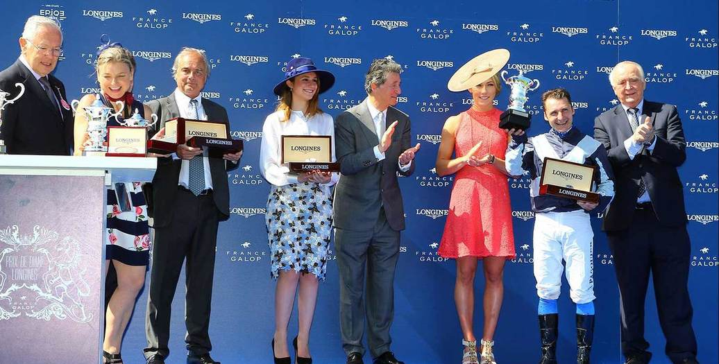 Longines Flat Racing Event: Senga imposes herself in the 2017 Prix de Diane Longines