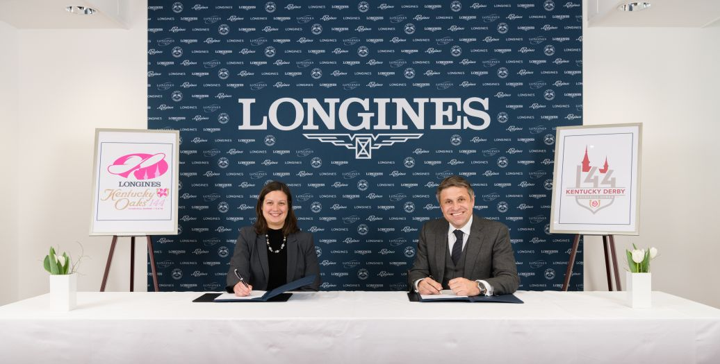 Longines Flat Racing Event: Longines renews its partnership with Churchill Downs as Official Timekeeper of the Kentucky Derby® and unveils the new Longines Kentucky Oaks logo