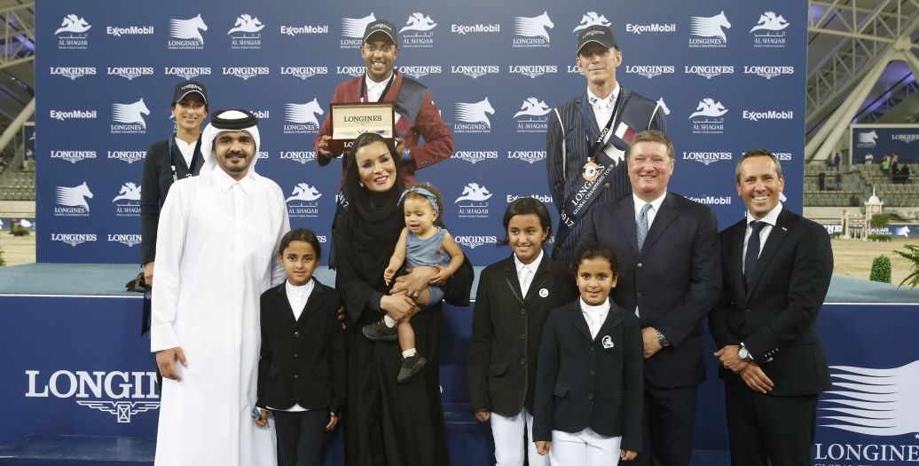Longines Show Jumping Event: Qatari victory at the 2017 Longines Global Champions Tour in Doha