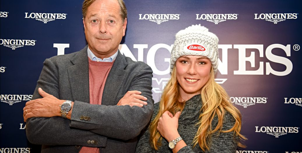 Longines Alpine Skiing Event: Longines' precision to serve the FIS World Cup with the new Conquest V.H.P. model