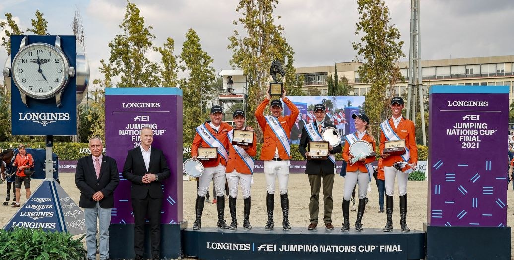 Longines Show Jumping Event: The world's elite riders return to the magnificent city of Barcelona to contend for the Longines FEI Jumping Nations Cup Final