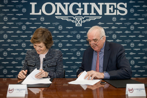 Longines Flat Racing Event: Longines signs a new partnership agreement with the International Federation of Gentlemen and Lady Riders