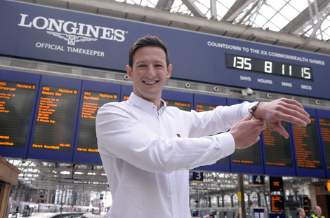Longines Commonwealth Games Event: Longines Countdown clock unveiled as Scots gear up on Commonwealth Day for a great Games