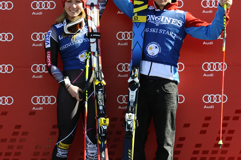 Longines Alpine Skiing Event: Mikaela Shiffrin and Alexis Pinturault are the Longines Rising Ski Stars 2013/2014