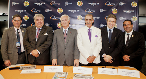 Longines Flat Racing Event: Juan Enrique on Lideris wins the Longines Gran Premio Latinoamericano