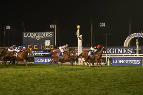 Longines Flat Racing Event: The elegance of Longines on display at the Dubai World Cup