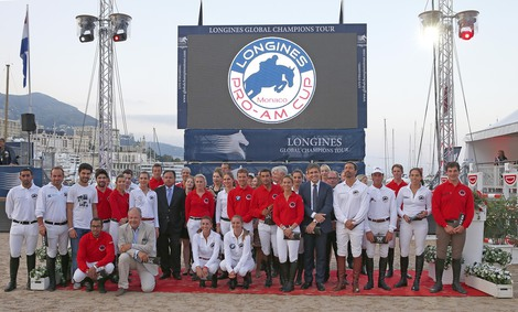 Longines Show Jumping Event: The Longines Global Champions Tour of Monaco: where elegance and performance meet