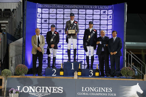 Longines Show Jumping Event: L'Allemand Ludger Beerbaum remporte le Longines Global Champions Tour Grand Prix de Lausanne