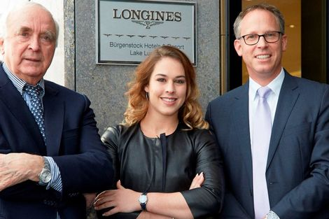 Longines officially inaugurates its first Corporate Boutique in Switzerland in presence of Giulia Steingruber, Ambassador of Elegance