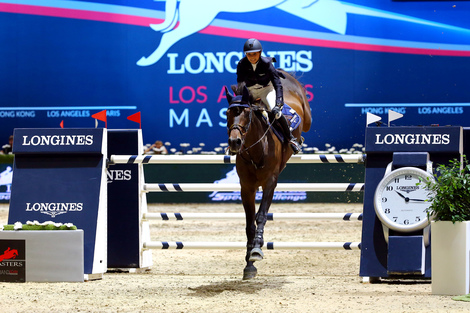 Longines Show Jumping Event: The first Longines Los Angeles Masters (Los Angeles Masters, UNITED STATES (THE))