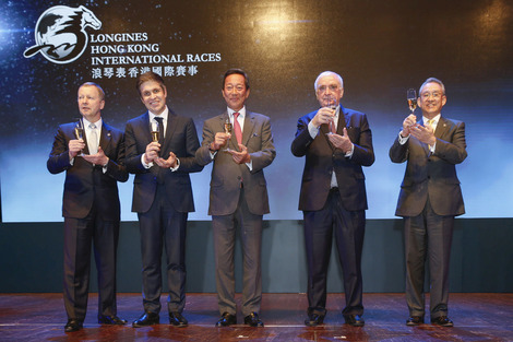 Longines Flat Racing Event: Ryan Moore crowned Longines World's Best Jockey 2014 at the Longines Hong Kong International Races Gala Dinner